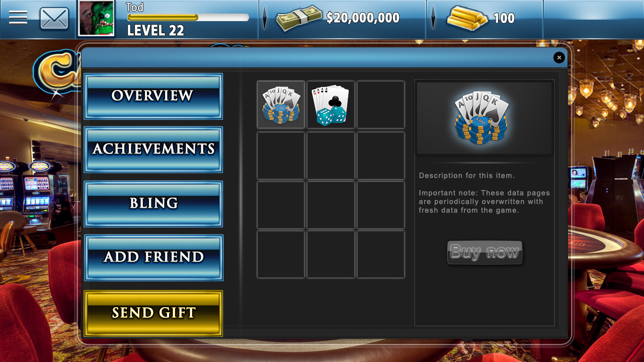 slots casino meaning